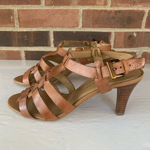 Franco Sarto Trisha strappy leather sandals